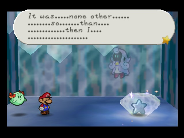 Paper Mario - Cut-Scene  - U sayed it was a short story  - User Screenshot